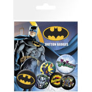Batman Striplogo en the Joker - Badges