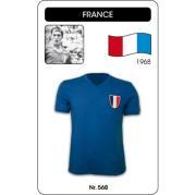 France 1968 Olympics Short Sleeve Retro Football Shirt