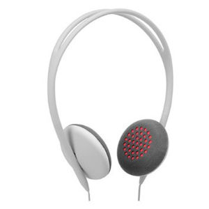 Pivot: On Ear Headphones - Grey / Pink