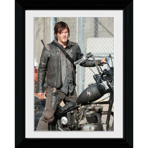 The Walking Dead Daryl - 30 x 40cm Collector Print