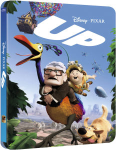 Up 3D - Zavvi UK Exclusive Limited Edition Steelbook (Includes 2D Version) (The Pixar Collection #7)