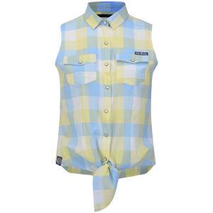 Tokyo Laundry Women's June Checked Shirt - Sunshine Marl