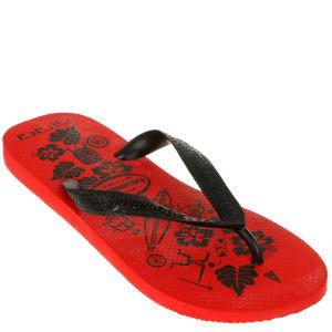 Havaianas Alamoana Flip Flops - Red