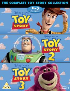 Toy Story 1, 2 and 3 - Triple Pack (Plus Bonus Disc)