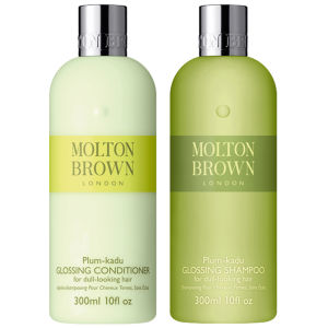Molton Brown Plum-kadu Glossing Shampoo & Conditioner 300 ml (Bundle)
