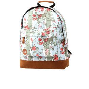 Mi-Pac Floral Blue Rose Print Backpack