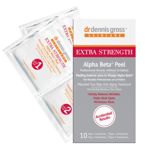 Dr Dennis Gross Extra Strength Alpha Beta Face Peel (10 Application Packettes)
