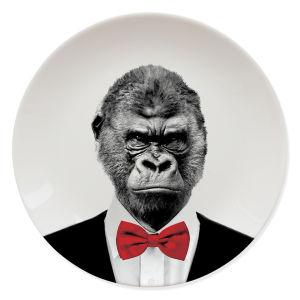 Assiette Gorille- Wild Dining