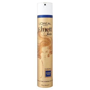 L'Oreal Paris Elnett Satin Hairspray – Supreme Hold (400ml)