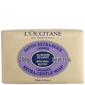L'Occitane Shea Butter Soap - Lavender 250g