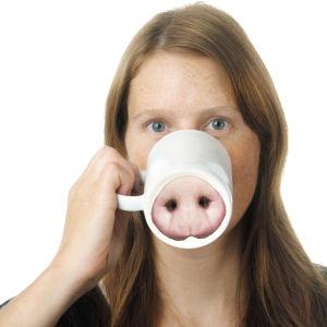 Nose Mug - Miss Piggy