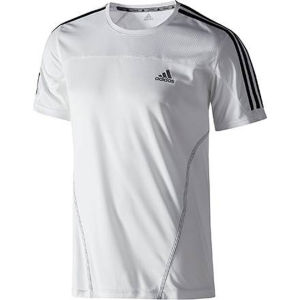 Adidas Men's Response Short Sleeve T-Shirt - White/Black
