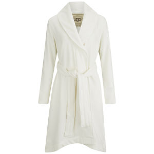 UGG Women's Heritage Comfort Duffield Dressing Gown - Cream