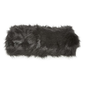 Impulse Women's Fur Headband - Black