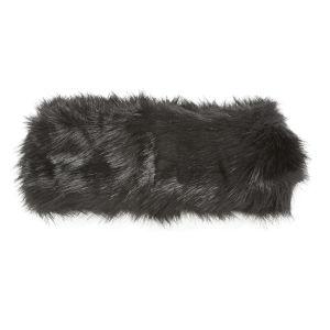 Impulse Women's Fur Headband - Black