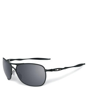 Oakley Men's Crosshair Matte Iridium Polarized Sunglasses - Black