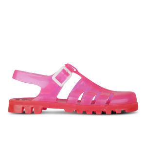 JuJu Women's Maxi Jelly Sandals - UV Pink