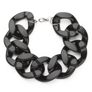 Impulse Women's Chunky Chain Bracelet - Black