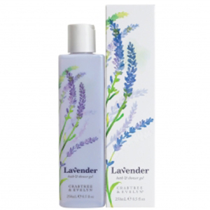 Gel de douche et de bain Crabtree & Evelyn à base de lavande  (250ml)