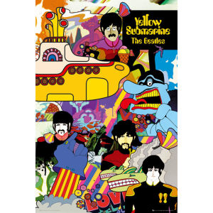 The Beatles Yellow Submarine - Maxi Poster - 61 x 91.5cm