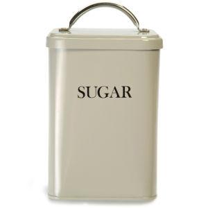 Garden Trading Zucker-Aufbewahrungsbox - Grauweiß
