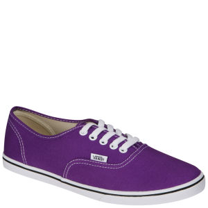 Vans Authentic Lo Pro Canvas Trainer - Amaranth Purple