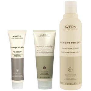Aveda Damage Remedy Trio- Shampoo, Conditioner & Daily Hair Repair