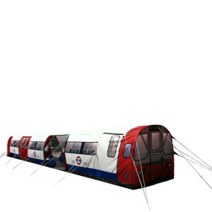 London Underground Tube 20 Person Tent
