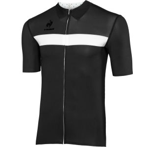 Le Coq Sportif Men's Cycling Performance Short Sleeve New Arac Jersey - Black