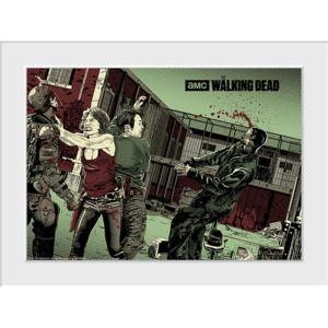 The Walking Dead Maggie Glen - 30 x 40cm Collector Print