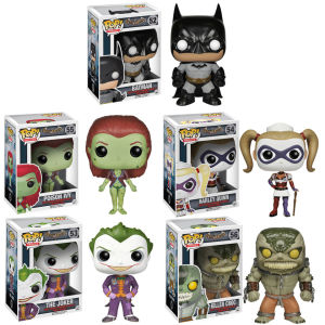 DC Comics Arkham Asylum Funko Pop! Vinyl Bundle