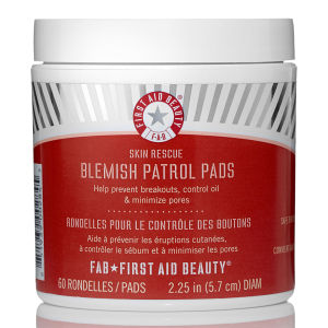 First Aid Beauty Skin Rescue Blemish Patrol Pads (60 Pads) (Worth $37)