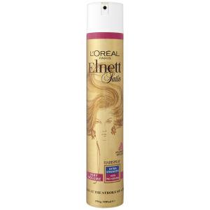L'Oreal Paris Elnett Satin Very Volume Hairspray - Extra Stength (400ml)