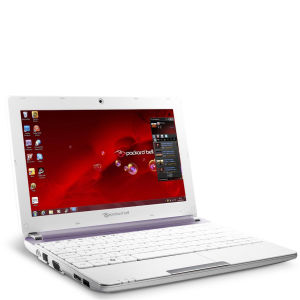 Packard Bell Dot 10.1 Inch SC/Atom Netbook N2600 (1GB RAM 320GB HDD W7S Purple and White)