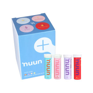 Nuun Active Sports Isotonic Hydration Tablets - 4 Pack Tropical, Grape, Strawberry, Fruit Punch
