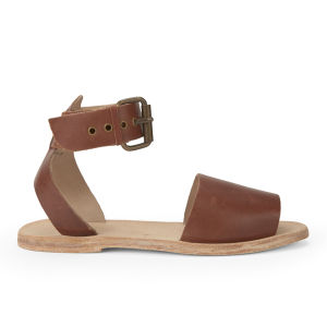 H Shoes by Hudson Women's Soller Leather Sandals - Tan