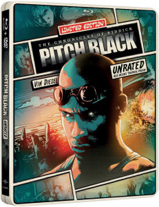 Pitch Black - Import - Limited Edition Steelbook (Region Free)