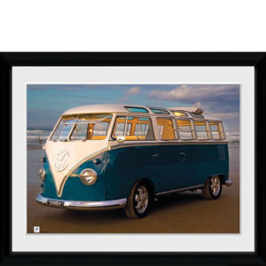 VW (Brendan Ray) Blue Kombi - 30x40 Collector Prints