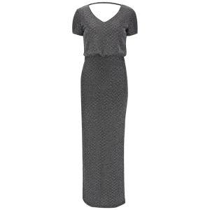 VILA Women's Viglitsay Maxi Dress - Silver