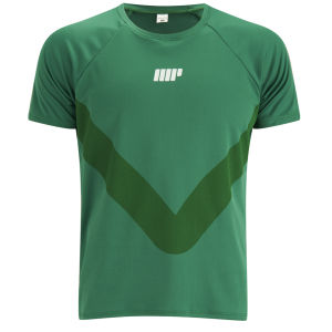 Camiseta de Manga Corta Myprotein Running - Verde