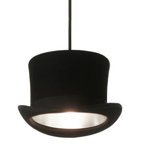 Innermost Ltd Wooster Pendant Light With Silver Interior - Silver