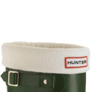 Hunter Unisex Fleece Welly Socks - Cream