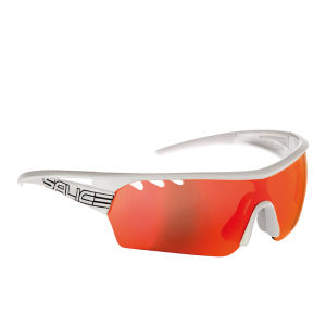 Salice 006 Sports Sunglasses - White/Red