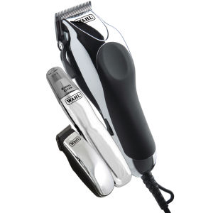 Wahl Deluxe Chrome Pro Mains Clipper - Brittisk stickkontakt