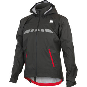 Sportful Commute Rain Jacket - Black