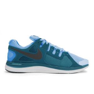 Nike Men's Lunarflash + Running Shoes - Vivid Blue