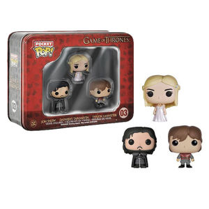 Game Of Thrones Pocket Mini Pop! Vinyl Figure 3 Pack Tin