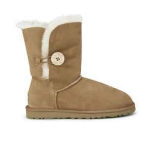 UGG Women's Bailey Button Sheepskin Boots - Chestnut