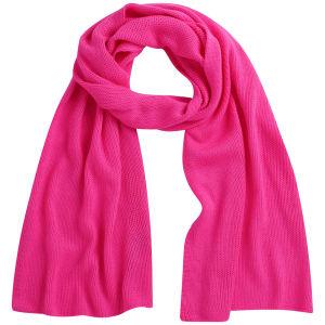 Codello Women's Winter Wonderland Neon Knitted Scarf - Pink