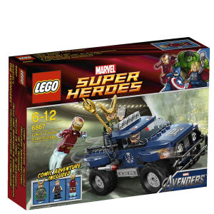 LEGO Super Heroes: Loki's Cosmic Cube Escape (6867)